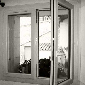 ouverture à la française fenêtre