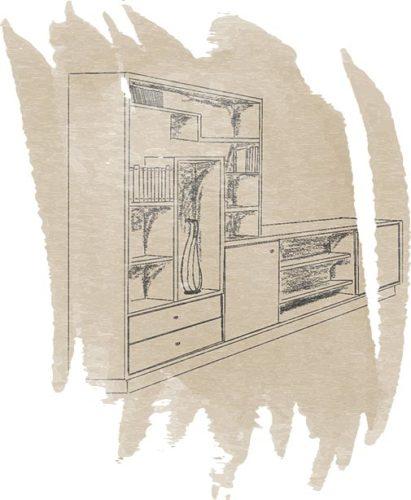 illustration bibliotheque - Nicolas Novara