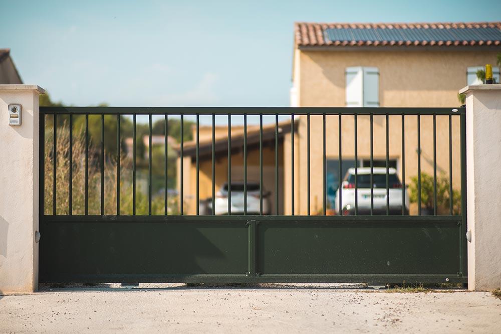 BANCEL - portail coulissant - Alès
