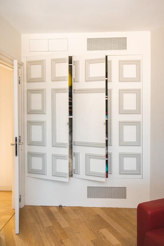 Placard en bois sur mesure - menuiserie BANCEL - Gard