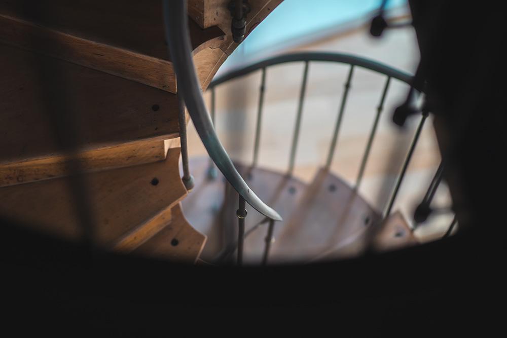 Escalier en colimaçon sur mesure - BANCEL