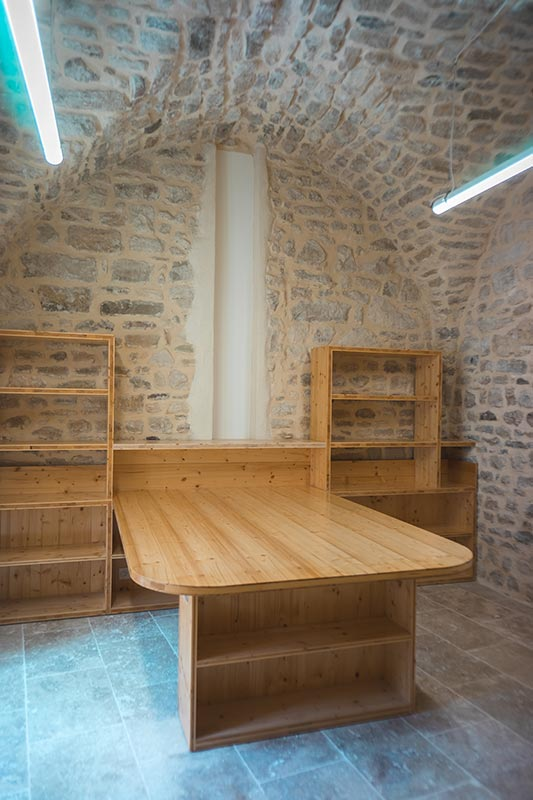 Agencement intérieur mairie - Gard - Menuiserie BANCEL