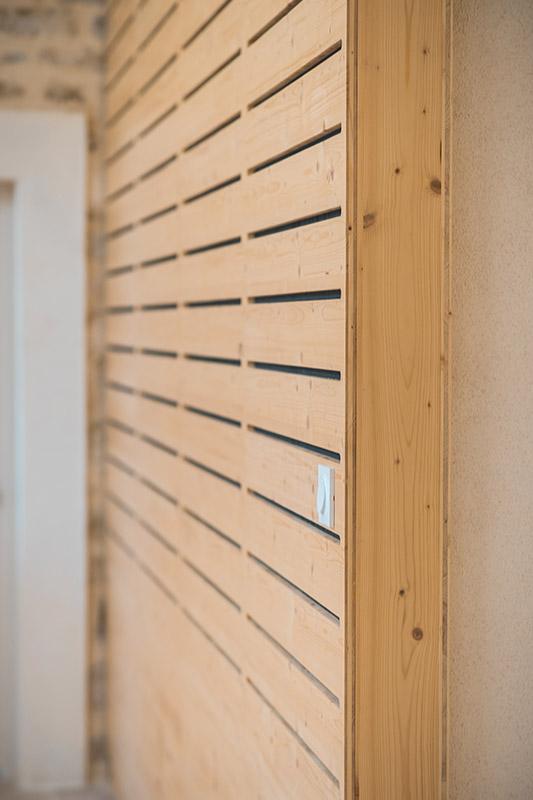 Agencement finition intérieur mairie - Gard - Menuiserie BANCEL