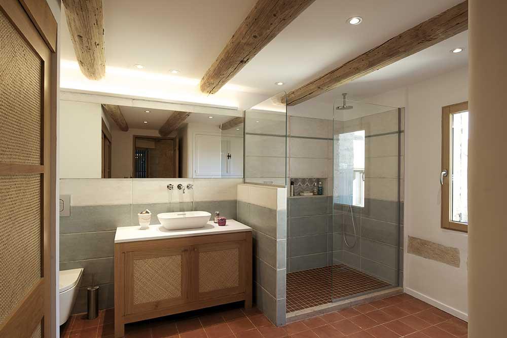 Salle de bains - Menuiserie sur mesure - Uzès